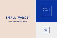Chelsey Dyer — Small Works SF logo + branding