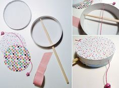 diy tambourin enfant makeup products - makeup products for beginners - makeup products drugstore - m Diy For Kids, Crafts For Kids, Tambourine, Musical Instruments, Activities For Kids, Musicals, Diy And Crafts, Projects To Try, Creations