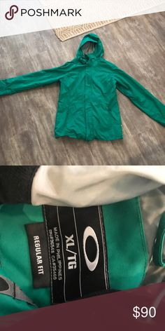Oakley Winter Skiing Snowboarding Jacket Perfect for all sorts of outdoor activities! Beautiful unique color too. Oakley Jackets & Coats