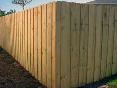 Wood Shadowbox Scalloped Fence With Gothic Posts Mossy