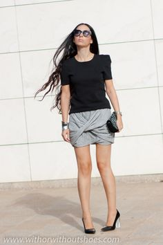 DIY: RUCHED TWIST SKIRT | ! With Or Without Shoes