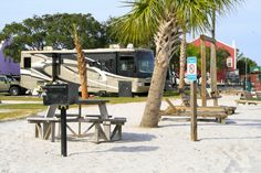 Perdido Cove RV Resort is located on the Intracoastal Waterway in Perdido Key, FL one mile from the famous Gulf Coast white sand beaches. We're close to attractions such as the National Aviation Museum, Gulf State Park in Gulf Shores Alabama and the Gulf Island National Seashore. We offer the following amenities: 56 RV sites with full hooks (30/50 Amp electricity, water, sewer, and cable), white sand picnic area; fishing pier; swimming pool; club house; general store; and social activities.