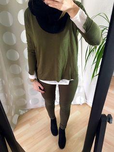 4.9 All Khaki Everything - Khaki Outfit im Lagenlook