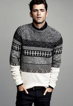 /\ /\ . Sean O'Pry for H&M