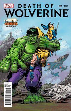 Death of Wolverine Vol 1 #1 (2014) Variant Edition •Herb Trimpe