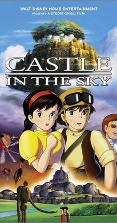 Directed by Hayao Miyazaki.  With Anna Paquin, James Van Der Beek, Cloris Leachman, Mark Hamill. A young boy and a girl with a magic crystal must race against pirates and foreign agents in a search for a legendary floating castle.