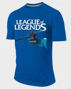 Game LOL Hero Hecarim t shirt short sleeve for men cheap plus size -
