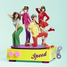 SPEED to release new album, '4Colors'