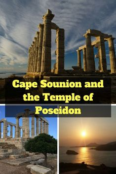 The Cape Sounion tour from Athens is a popular half-day trip normally taken in the afternoon. Visit the magnificent Temple of Poseidon and see a spectacular sunset from one of the most picturesque places in Greece! Europe Travel Guide, Europe Destinations, Amazing Destinations, Travel Guides, Travelling Europe, Traveling, Greece Itinerary, Greece Travel, Greece Trip