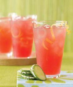 Rhubarb Lemonade Spritzer #wholefoodinspiration