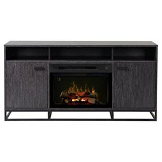 Dimplex Reily Electric Fireplace Media Console - Gray Cerused - GDS25LD-1660GC