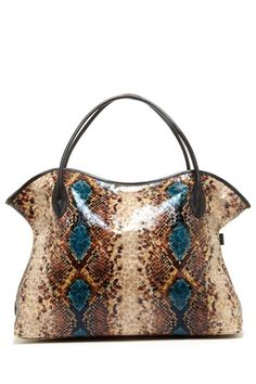 Sorial Print Two-Tone Tote by Our Best Bags on @HauteLook