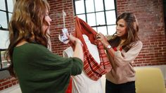 An old sweater and one cut are all you need to make this fashionable scarf.