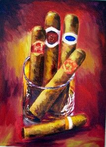 pipe and cigar art - Yahoo Image Search Results Pipes And Cigars, Cigars And Whiskey, Cuban Cigars, Cigar Art, Diy Canvas Art, Love Painting, Art Music, Cartoon Art, Vintage Posters
