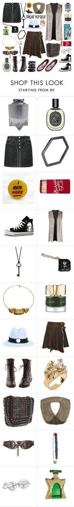 """It's Time to Treat Yo'Self!"" by deepwinter ❤ liked on Polyvore featuring Paco Rabanne, Tada & Toy, Converse, Elvi, Tiffany & Co., Luis Morais, Yves Saint Laurent, Smith & Cult, Eshvi and Tosca"