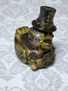 rubber ducky -Steam Punk