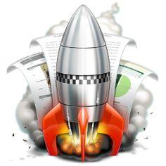 Rocketter Happyness #icons by Nikolay Verin