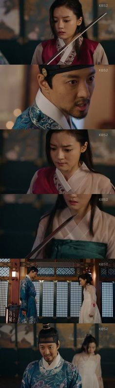 """[Spoiler] """"Queen for 7 Days"""" Lee Dong-gun goes crazy, rips off Go Bo-gyeol's clothes"""