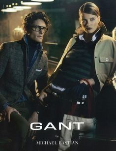 A Layered Danny Beauchamp Fronts Gant by Michael Bastian Fall/Winter 2012 Campaign
