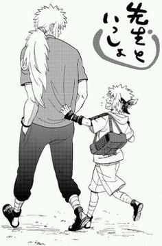 Jiraiya-sensei and Minato Anime: Naruto