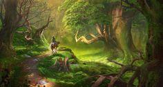 The Legend of Zelda: Ocarina of Time Illustrations | Blogzuola
