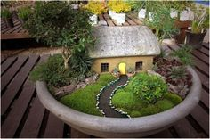 Practical Ideas On How to Create a Miniature Garden - Find Fun Art Projects to Do at Home and Arts and Crafts Ideas | Find Fun Art Projects to Do at Home and Arts and Crafts Ideas