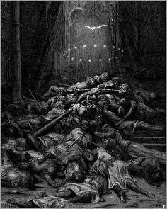 Gustave Dore -A Celestial Light -1875