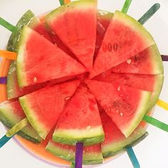 Here are the top health benefits of eating watermelon. Frozen on a stick is great in hot weather too   Helps You Hydrate. Contains Nutrients and Beneficial Plant Compounds. Contains Compounds That May Help Prevent Cancer.  May Improve Heart Health. Lower Inflammation and Oxidative Stress.  #NationalWatermelonDay