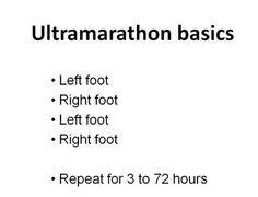 Ultramarathon basics
