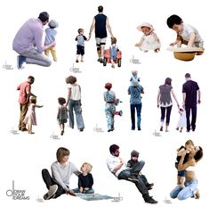 People Cutout, Cut Out People, People Png, Tree People, Human Figure Sketches, Figure Sketching, Creative Portrait Photography, Creative Portraits, Persona Vector