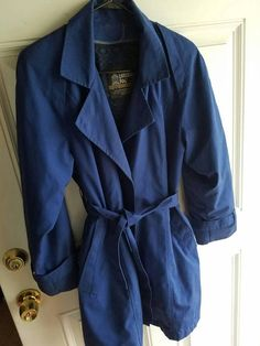 Check out this item in my Etsy shop https://www.etsy.com/listing/546143257/vintage-blue-london-fog-jacket-lined