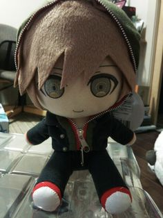 Anime Official Japan Dangan Ronpa: Trigger Happy Havoc Makoto Naegi GIFT Plush