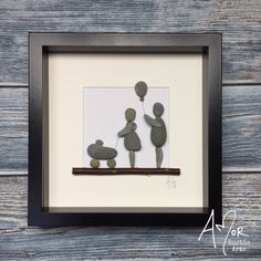 New baby Mum Dad and pram - Rock Baby Names - Ideas of Rock Baby Names - I design and create rustic gifts and décor for the home and office. Including the original AMor Rustic Arts world wide selling Pebble Pictures and batiks.