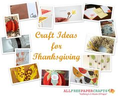 14 Craft Ideas for Thanksgiving