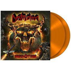 """Esclusiva EMP! L'album dei #Destruction intitolato """"Under attack"""" su doppio vinile arancione con copertina rigida cartonata gatefold include due bonus track. Edizione limitata a sole 200 copie."""