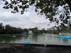 Lago no Bosque de Chapultepec