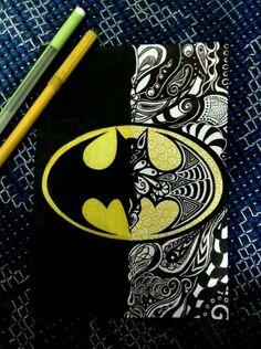 Dibujo de batman                                                       …