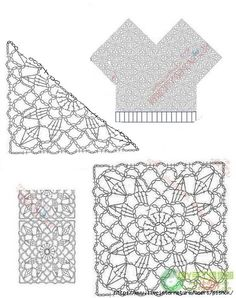 Inspirações de Croche com Any Lucy: Saída de Praia ou Túnica
