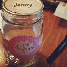 The 'bad day' jar. All you need is a clean mason jar, scissors, hot glue gun, and a good printer. Fill the jar with things you love about the person, quotes, funny things, bible verses, or whatever it takes to make them smile. The printable labels are free and found at http://limeshot.com/2012/free-printable-mason-jar-labels Glue the label to the jar, write your comments down, fold them and put them in the jar. Perfect for going away to college, moving away, or army gifts!
