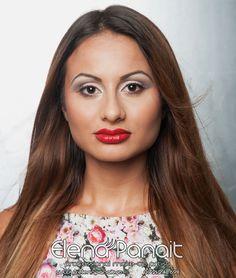 Makeup made by #Professional #Makeup #Artist Elena Panait