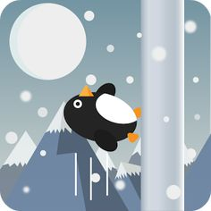 Penguin Run, Cartoon Welcome to Arctic world of adventure! The cute little Penguin is rushing to collect fish. Tap..Flap..Easy? It is one of the addicting games. Ultimately, it tests your reflexes against time and movement. Tap to change your flapping direction. Beware of the ice cones and snow balls. Don't hit the obstacles; this is the play rule in this fun game