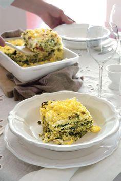 Recipe for Spring Vegetable Lasagna : La Cucina Italiana