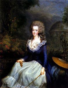 Marie Antoinette in hunting attire, 1778