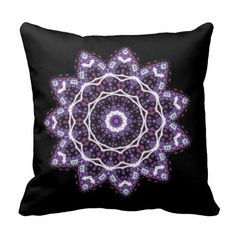 Zazzle have the perfect mandala gift for any occasion. Explore our fab gifts today! Decorative Throw Pillows, Laptop Sleeves, Make Your Own, Fine Art America, Original Art, Mandala, Cushions, Purple, Floral