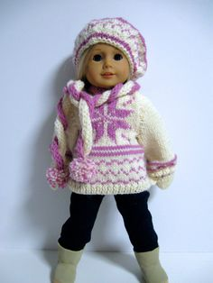 American Girl Doll Clothes FallSweatersRose by 123MULBERRYSTREET, $33.00
