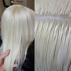 Probably the number one question I am asked is how light does hair n ZERO TONER. Probably the number one question I am asked is how light does hair n Yellow Blonde Hair, Silver Blonde Hair, Platinum Blonde Hair, White Hair Toner, Toner For Blonde Hair, Toning Blonde Hair, Butter Blonde Hair, Silver White Hair, Hair Addiction