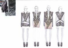 Fashion Sketchbook - fashion design sketches; lineup; fashion portfolio // Shima Khanom
