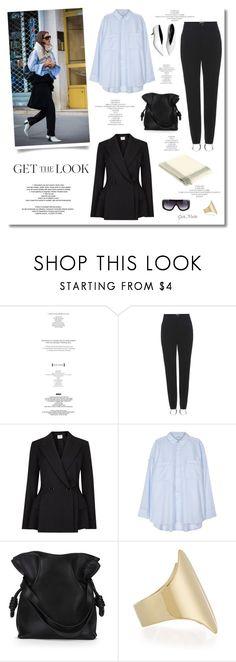 """Get The Look .... Vanessa Reid"" by greta-martin ❤ liked on Polyvore featuring StyleNanda, Balenciaga, Lanvin, Helmut Lang, Loewe and Faliero Sarti"