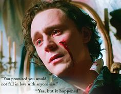 Tom Hiddleston as Sir Thomas Sharpe in Crimson Peak