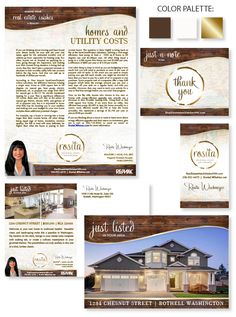 Rosita Wischmeyer's personality rich business #branding is ready to go.